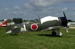 A6M Zero Japanese fighter.