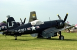 Right side of F4U Corsair