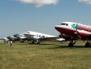 Photo of 5 DC-3 transports