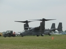 CV-22 Osprey taxies on ground