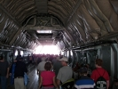 C-5 Galaxy view from inside